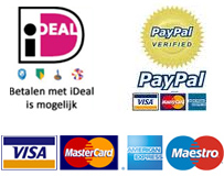 iDEAL, PayPal, Credit Cards